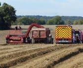 Accident mortel dans une exploitation agricole