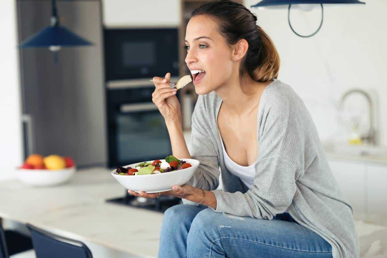 manger sainement pour être en forme