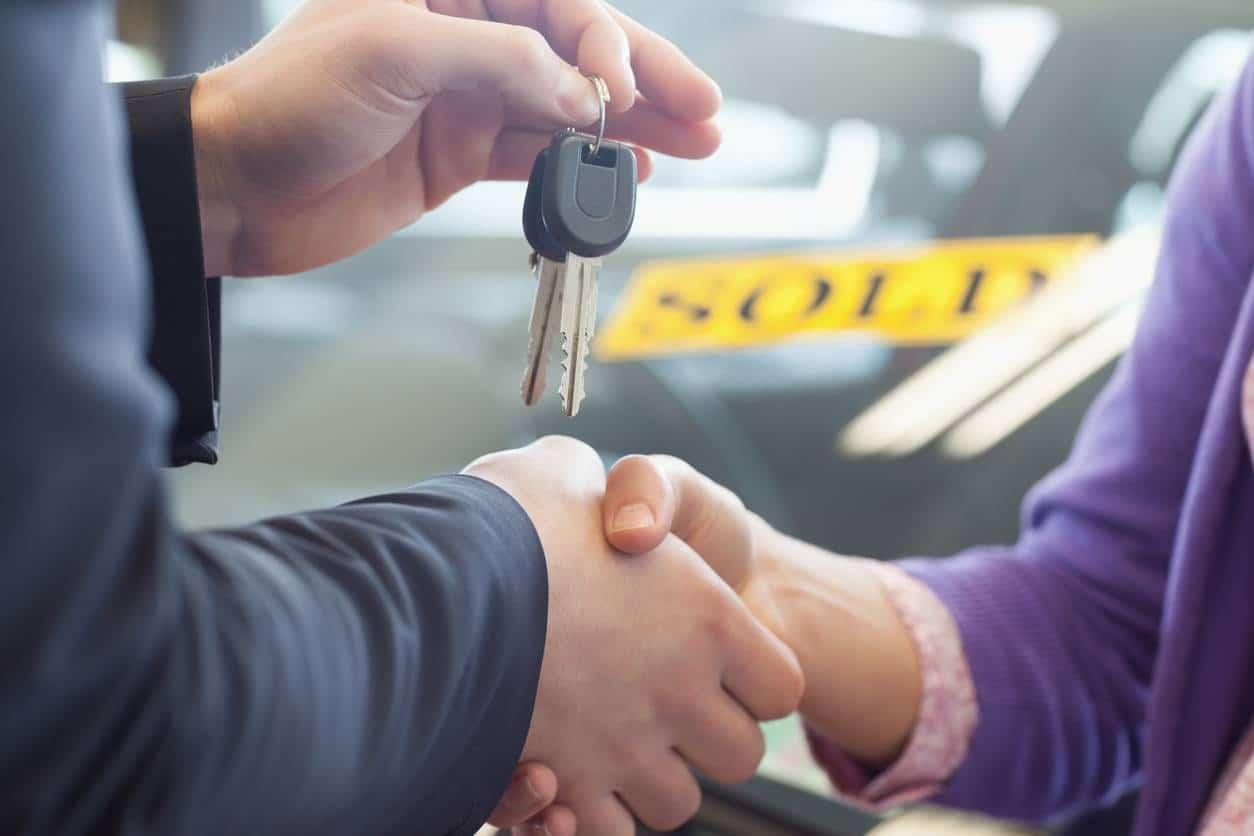 achat en occasion voiture vendeur