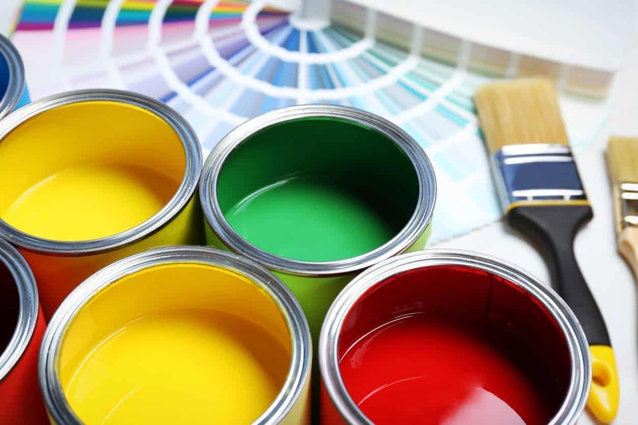 stockage peinture